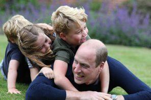 День отца в королевской семье