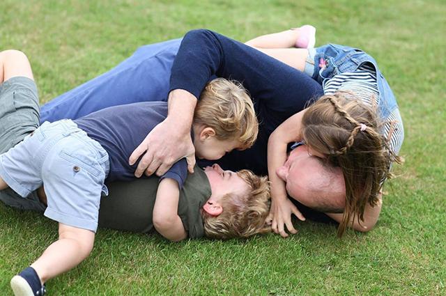 Принц Уильям и дети