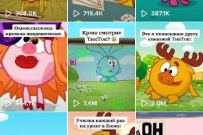 официальный канал Смешариков в ТикТоке