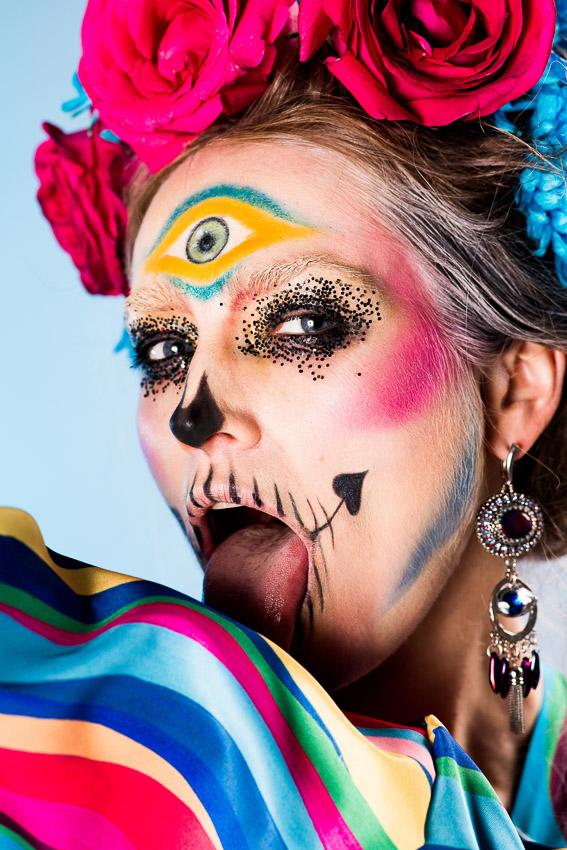 Макияж на Хэллоуин: 100 крутых идей для вечеринки