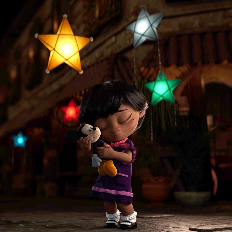 Disney christmas advert 2020