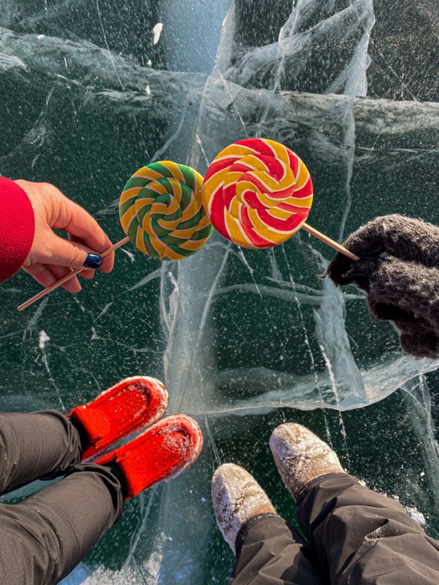 фото зимнего Байкала