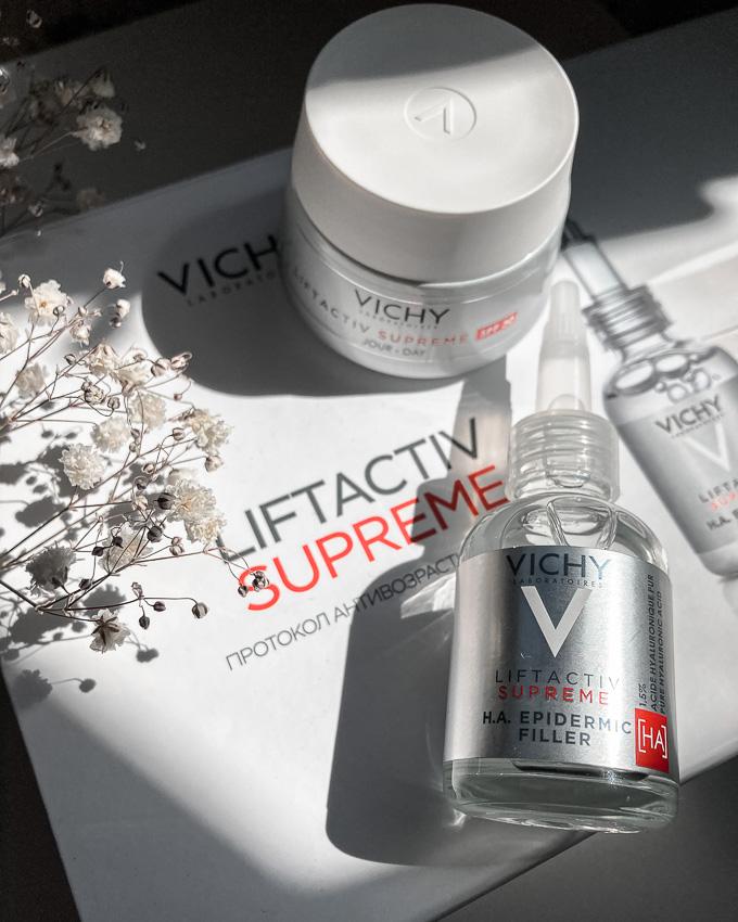 Инновационная сыворотка-филлер от Vichy: максимальное увлажнение и антивозрастной уход