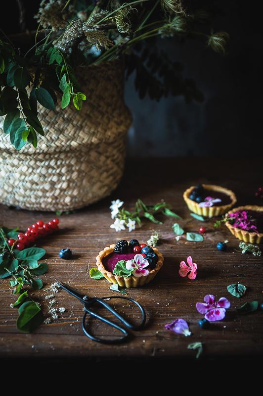 рецепт тарталеток с ягодами